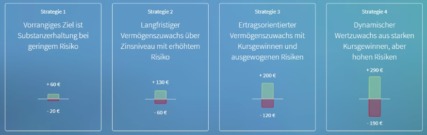 VisualVest Risikobereitschaft